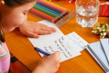 Kids and Thank You Notes